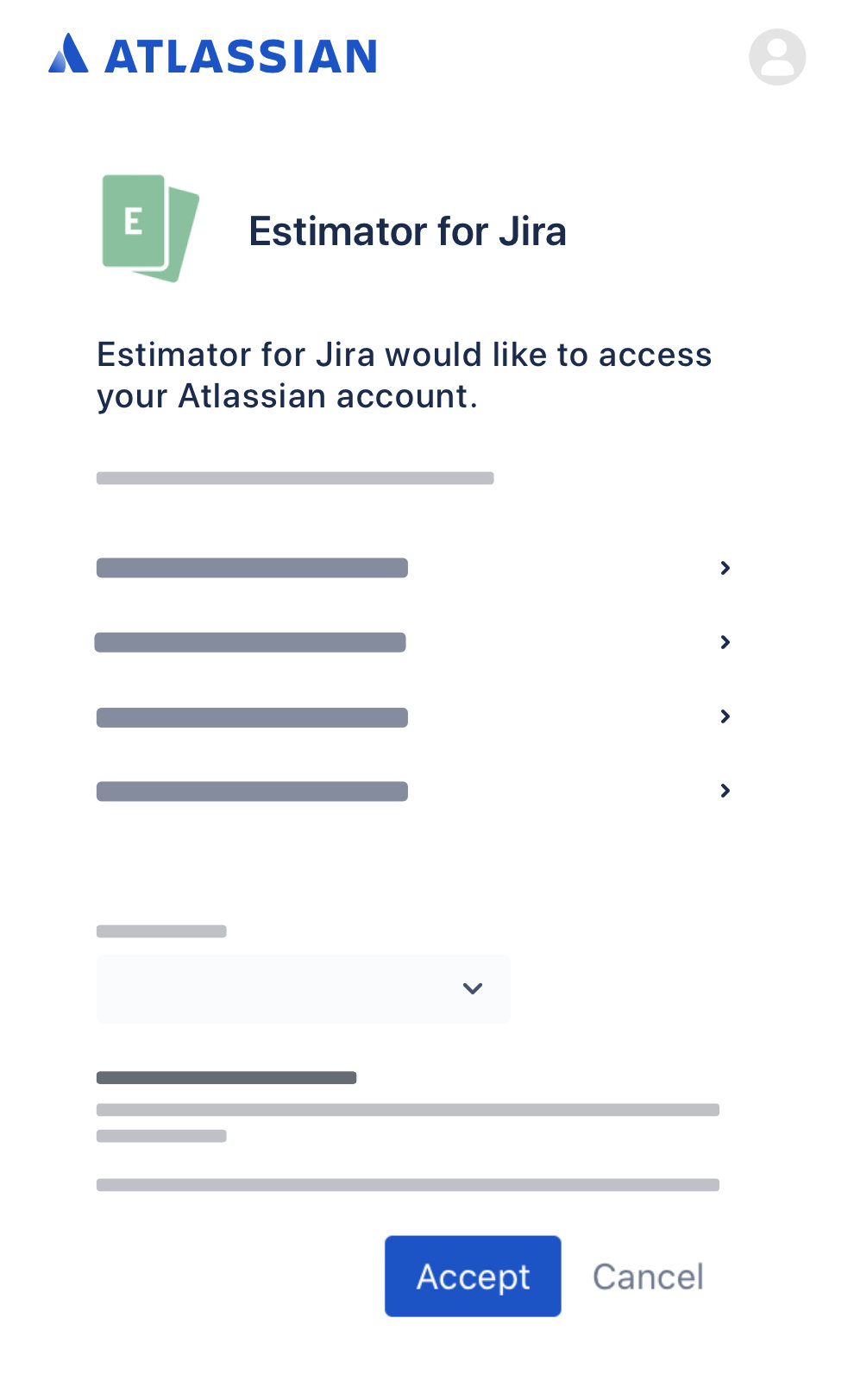 Preview of accepting Estimator for Jira